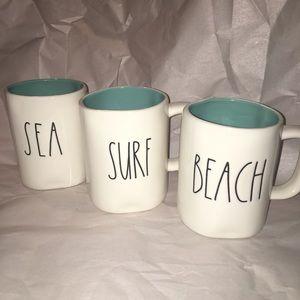 Rae Dunn Sea, Surf & Beach Mugs